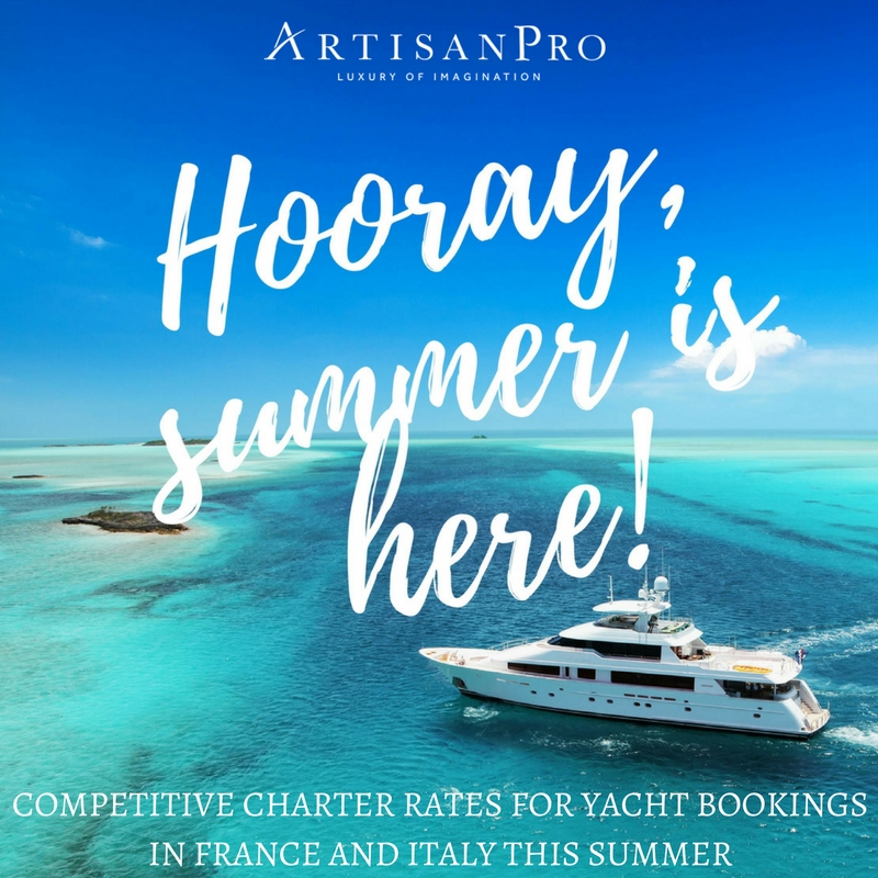 ArtisanPro Offer Competitive Yacht Charters
